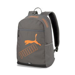 Kuprinė Puma Phase Backpack II, 21 l, pilka kaina ir informacija | Kuprinė Puma Phase Backpack II, 21 l, pilka | pigu.lt