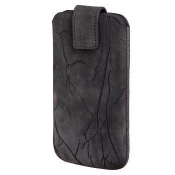 Hama Crinkle Sleeve, L dydžio kaina ir informacija | Telefono dėklai | pigu.lt