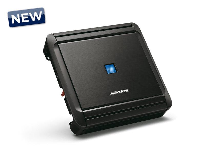 Alpine MRV-F300, 4 kanalų garso stiprintuvas kaina ir informacija | Automobiliniai stiprintuvai | pigu.lt