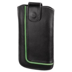 HAMA Neon Black Mobile Phone Sleeve size L black/green