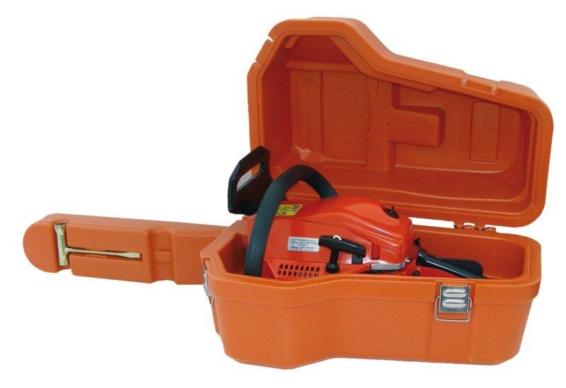 Benzininis grandininis pjūklas HECHT 950 su dėklu kaina ir informacija | Pjūklai, pjovimo staklės | pigu.lt