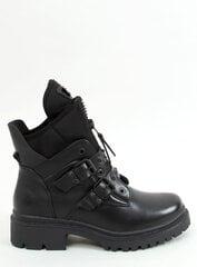 Aulinukai moterims PBP29456, juodi kaina ir informacija | Aulinukai, ilgaauliai batai moterims | pigu.lt