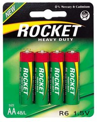 Rocket Heavy Duty AA elementai 4 vnt.