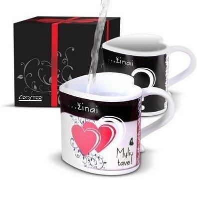 Puodelis-siurprizas įsimylėjusiems kaina ir informacija | Originalūs puodeliai | pigu.lt