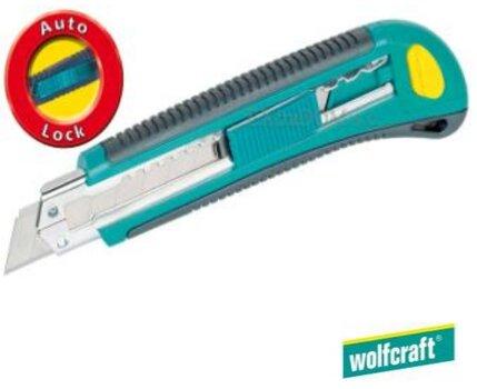 Laužomas peilis 18mm Wolfcraft + 3 geležtės 4138000