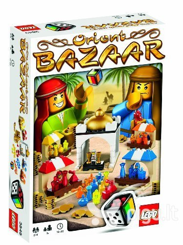 Konstruktorius Lego Games Orient Bazaar 3849 kaina ir informacija | Konstruktoriai ir kaladėlės | pigu.lt