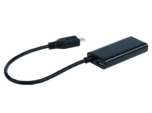 ADAPTER MHL(M)->HDMI(F)+USB MICRO(BF) (11 PIN) 16C