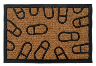 Durų kilimėlis Panama Pėdutės 40x60 cm kaina ir informacija | Durų kilimėliai | pigu.lt