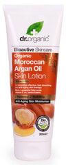 Natūralus kūno losjonas Dr. Organic Moroccan Argan Oil 200 ml