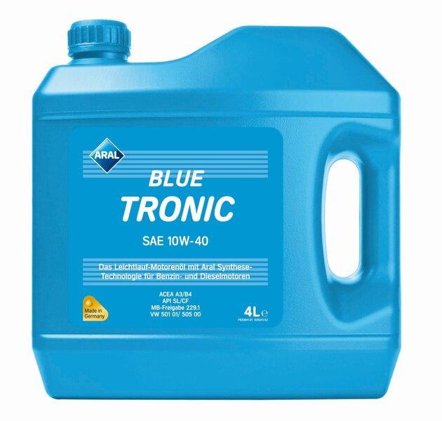 Aral BlueTronic 10W-40, 4L kaina ir informacija | Variklinės alyvos | pigu.lt