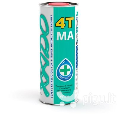 XADO Atomic OIL variklinė alyva 10W-40 4T MA Super Synthetic (1L)