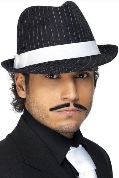 Gangsterio skrybėlė kaina ir informacija | Karnavaliniai kostiumai | pigu.lt