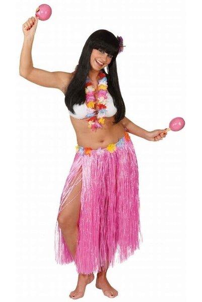 Havajietiškų girliandų rinkinys su sijonu kaina ir informacija | Karnavaliniai kostiumai | pigu.lt