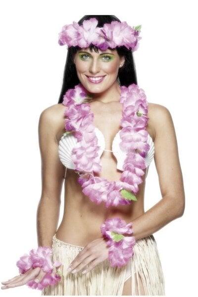 Havajietiškų girliandų rinkinys kaina ir informacija | Karnavaliniai kostiumai | pigu.lt