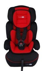 Automobilinė kėdutė BabyGO FreeMove 9-36 kg, Red