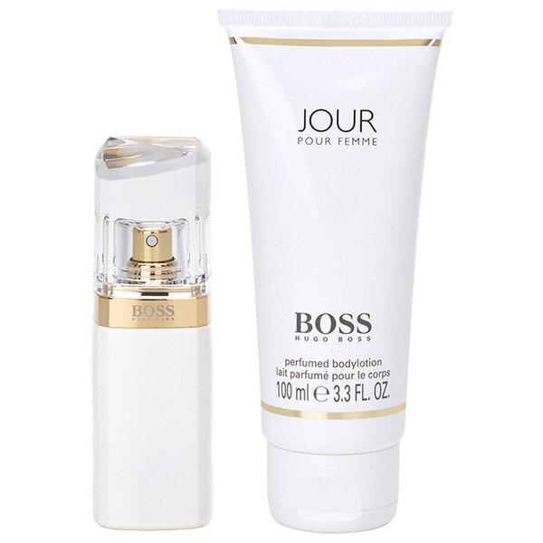Rinkinys Hugo Boss Boss Jour pour Femme: EDP moterims 30 ml + kūno losjonas 100 ml kaina ir informacija | Kvepalai moterims | pigu.lt