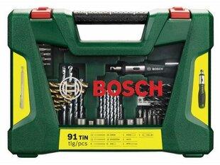 Rinkinys Bosch 91 vnt. V-Line Titanium
