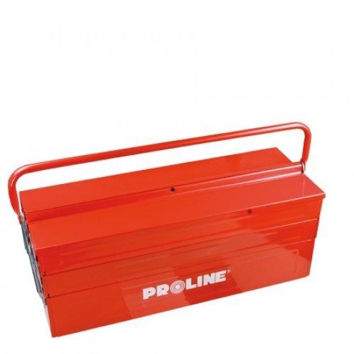Metalinė dėžė įrankiams PROLINE kaina ir informacija | Įrankių dėžės, laikikliai | pigu.lt