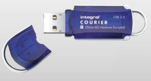 Integral Courier FIPS 197 USB 3.0 Atmintinė 16 GB