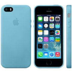 Apple - iPhone 5s Case Blue MF044ZM/A