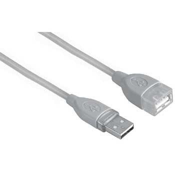 USB kabelio ilgiklis Hama 00039723 A-A M/F, 0.5m.
