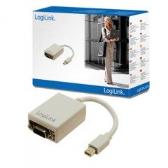 Logilink CV0038 Adapter Mini DisplayPort to VGA kaina ir informacija | Logilink CV0038 Adapter Mini DisplayPort to VGA | pigu.lt