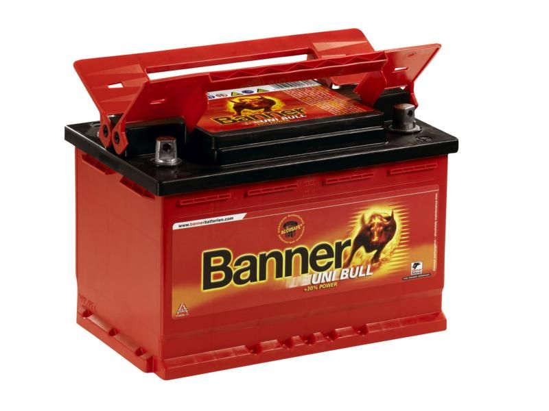 4 gnybtų akumuliatorius BANNER Uni Bull 80Ah 700A kaina ir informacija | Akumuliatoriai | pigu.lt