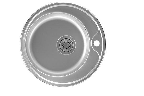 Virtuvinė plautuvė Artenova AD50, Matinis plienas kaina ir informacija | Virtuvinės plautuvės | pigu.lt