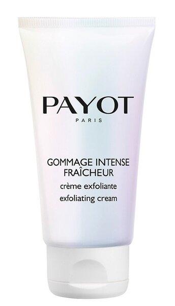 Kreminis veido šveitiklis su spanguolėmis Payot Gommage Intense Fraicheur 50 ml kaina ir informacija | Veido valymo priemonės | pigu.lt