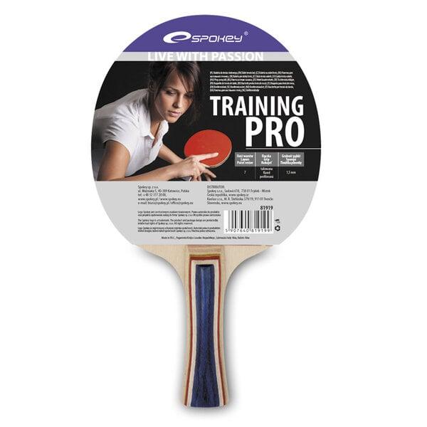 Stalo teniso raketė Spokey Training Pro kaina ir informacija | Stalo teniso stalai,  raketės, kamuoliukai | pigu.lt