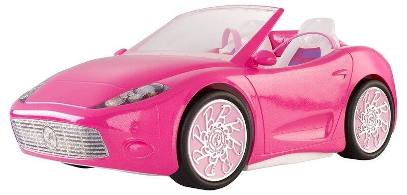 Lėlės Barbie kabrioletas, DGW23 kaina ir informacija | Žaislai mergaitėms | pigu.lt