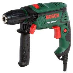 Smūginis gręžtuvas Bosch PSB 450 RE 500W