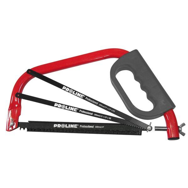 Pjūklas metalui Proline 30 cm kaina ir informacija | Mechaniniai įrankiai | pigu.lt