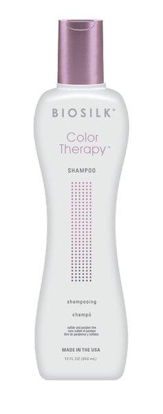 Šampūnas dažytiems plaukams Biosilk Color Therapy 355 ml kaina ir informacija | Šampūnai | pigu.lt