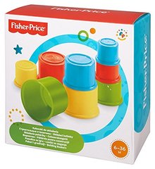 Kaladėlių piramidė Fisher Price