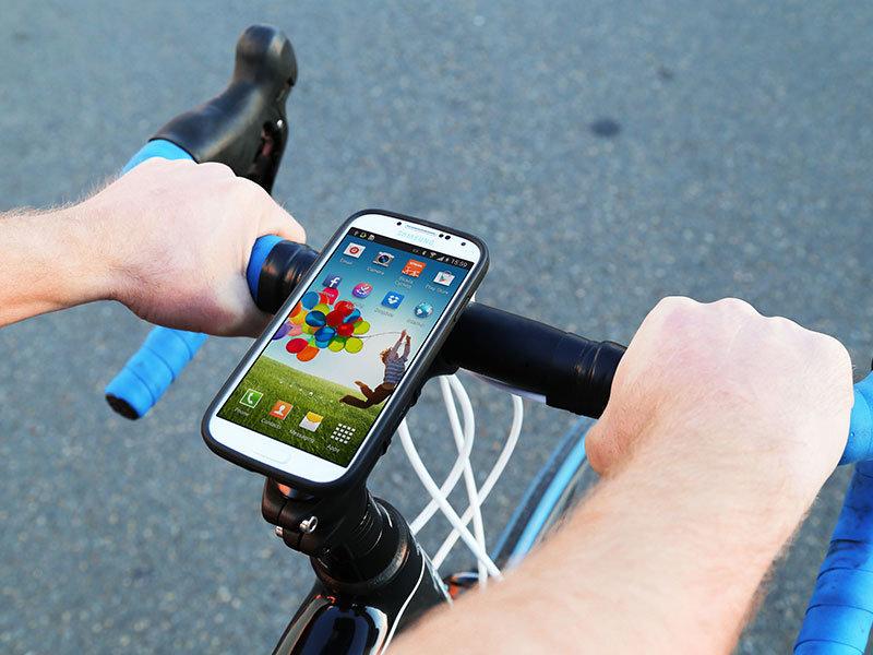 Rinkinys dviračiui Quad Lock Bike Kit - Galaxy S4 kaina ir informacija | Dviračių priedai ir aksesuarai | pigu.lt