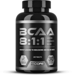 Xcore BCAA 8:1:1 Complex SS 180 tab.