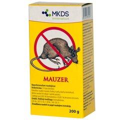 MKDS Mauzer nuo gražikų ir kurmių, 200 g