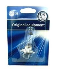 Lemputė H7 12V 55W GE 58520U kaina ir informacija | Auto lemрutės | pigu.lt