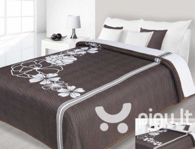 Dvipusė lovatiesė kaina ir informacija | Lovatiesės ir pledai | pigu.lt