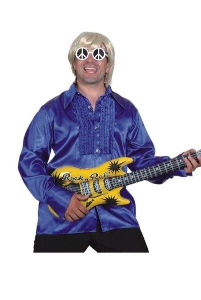 Disko marškiniai, mėlyni kaina ir informacija | Karnavaliniai kostiumai | pigu.lt