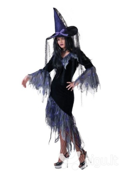 Raganaitės suknelė kaina ir informacija | Karnavaliniai kostiumai | pigu.lt