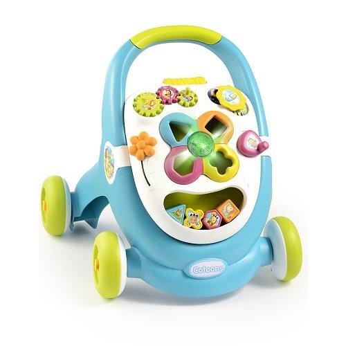 Stumdukas Smoby Walk & Play, mėlynas kaina ir informacija | Žaislai kūdikiams | pigu.lt