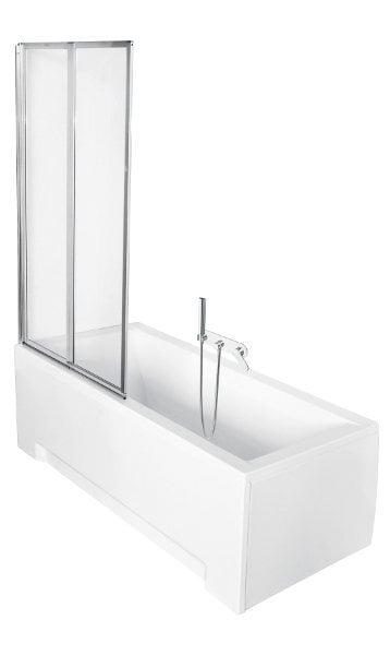 Mobili vonios stiklo sienelė Ambition 2 Premium kaina ir informacija | Priedai vonioms, dušo kabinoms | pigu.lt
