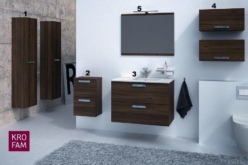 Vonios baldų kolekcija Mambo kaina ir informacija | Vonios baldai | pigu.lt