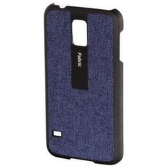 HAMA Fabric Mobile Phone Cover for Samsung Galaxy S5 blue/black kaina ir informacija | Telefono dėklai | pigu.lt
