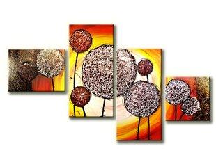 Keturių dalių tapytas paveikslas