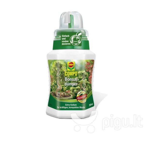 COMPO Trąšos bonsams, 250ml kaina ir informacija | Skystos trąšos | pigu.lt