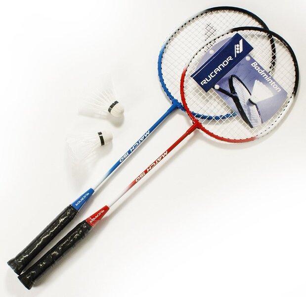 Badmintono rinkinys Rucanor Match 150 kaina ir informacija | Badmintonas | pigu.lt