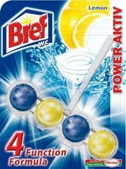 "WC valiklis-gaiviklis ""BREF Power Aktiv Lemon"" 50g"
